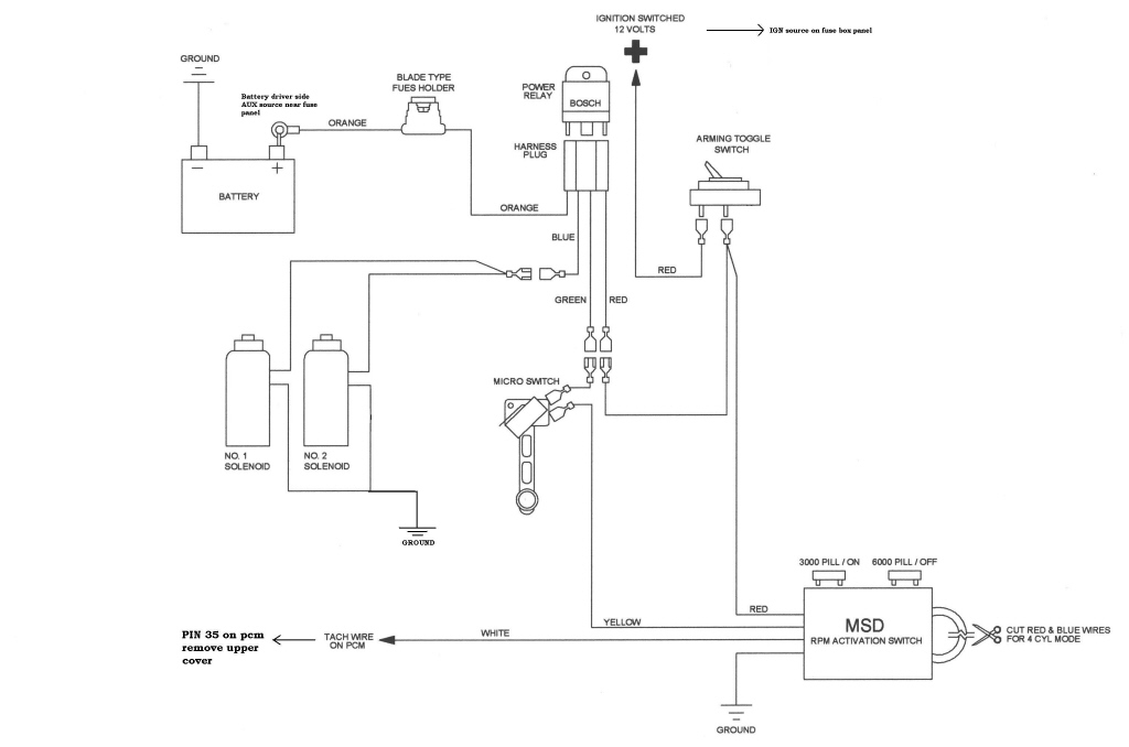 Wiring Diagram For Nitrous Solenoids