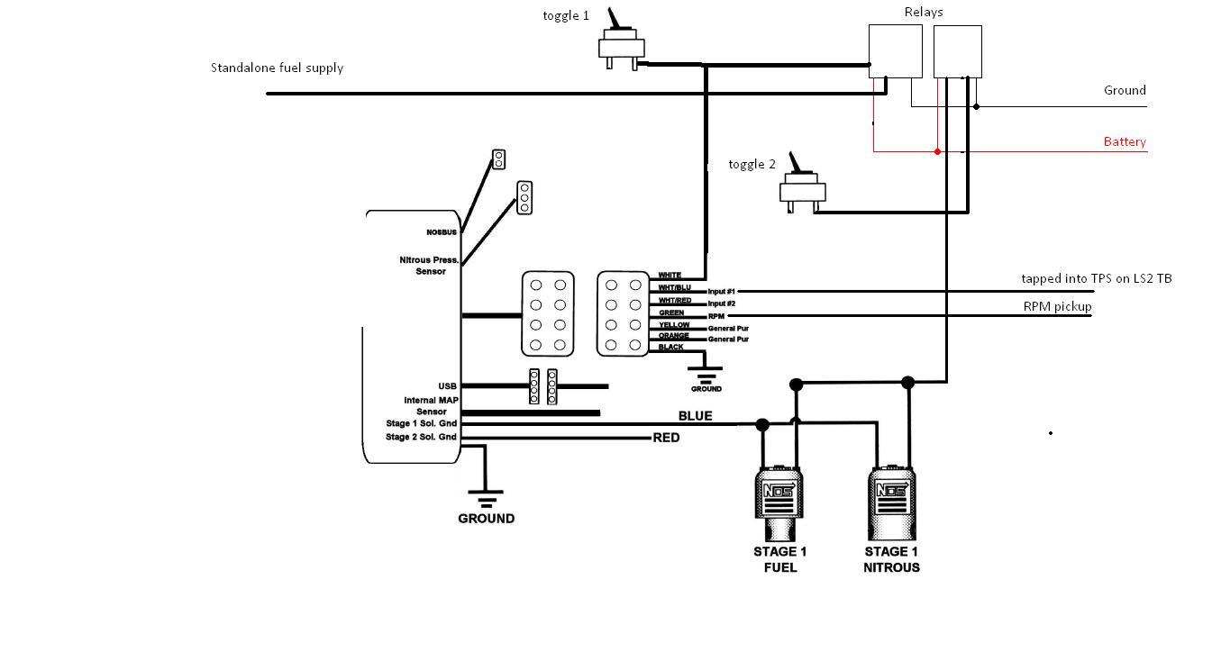 nitrous schematic wiring diagram
