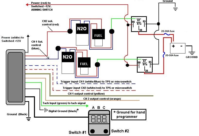 nitrous oxide wiring diagram lawn mower nos mini controller ? - ls1tech camaro and firebird forum discussion
