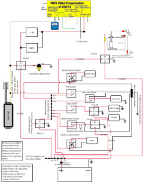LNC 2000 and NOS mini progressive wiring look correct