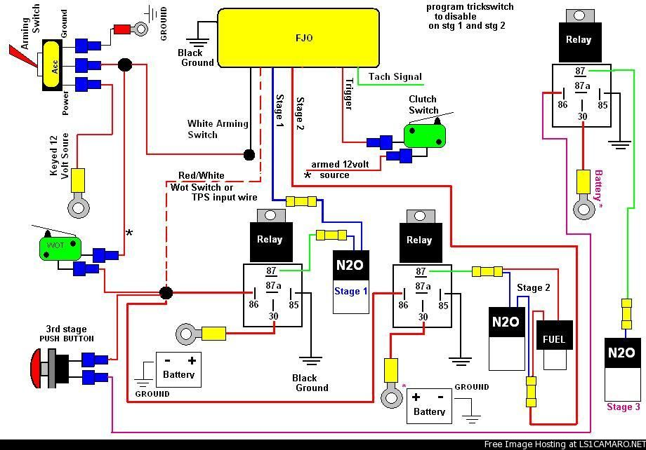 wiring diagram for nitrous systems wiring nitrous with