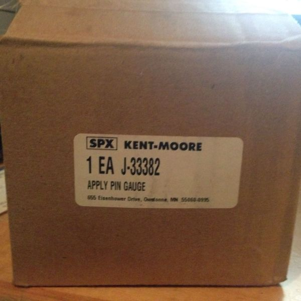 Spx Kent-moore -33382 Band Apply Pin Gauge Nib - In
