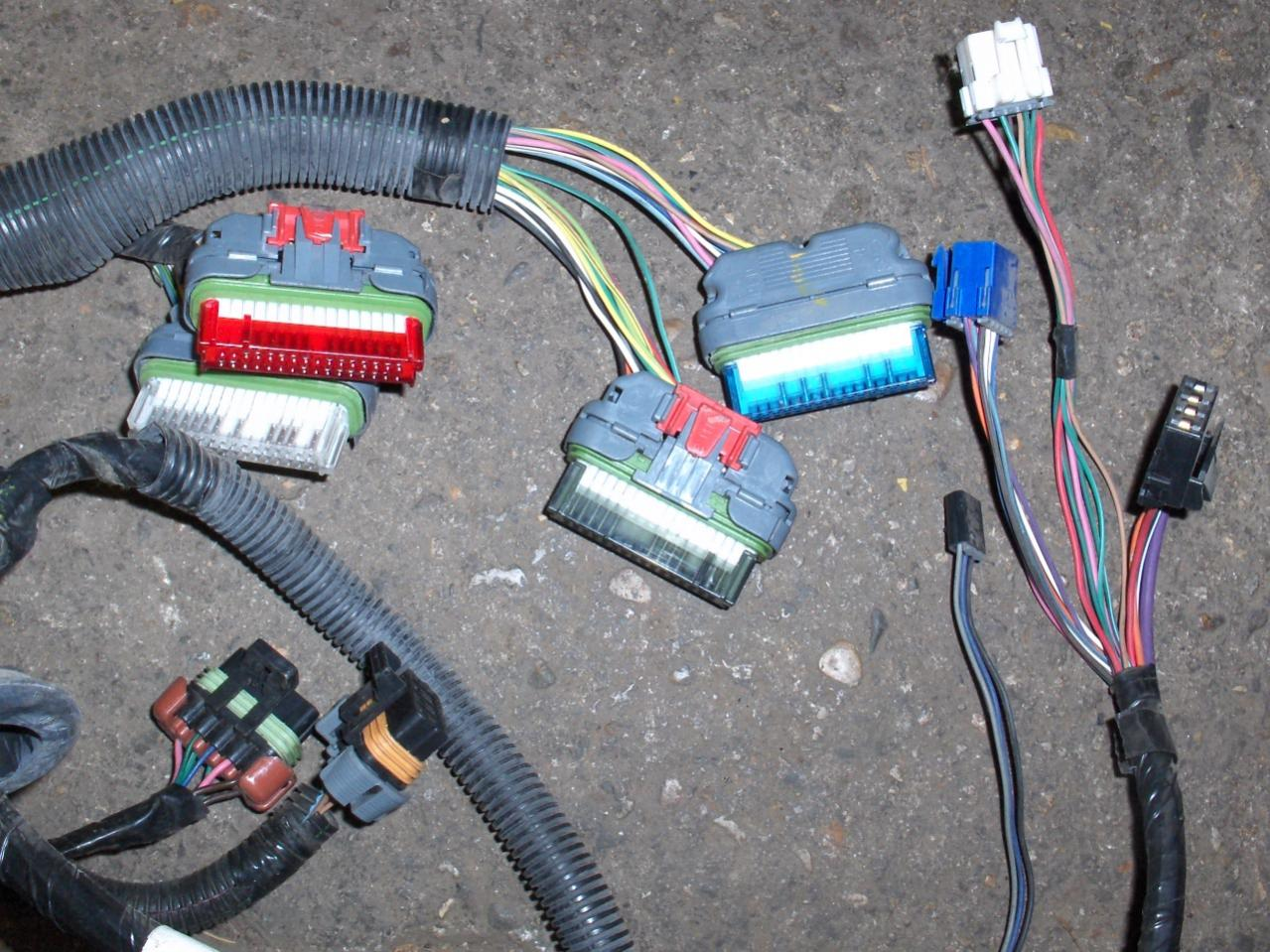hight resolution of  97 camaro z28 lt1 4l60e engine wire harness hpim2862 jpg
