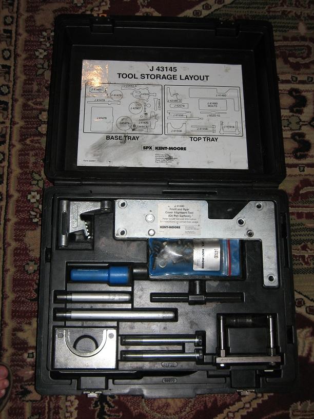 Kent Moore J 43145 Gen 3 V8 Base Engine Service Tools