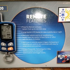 Viper Alarm 5900 Wiring Diagram Asco Automatic Transfer Switch Car And Remote Starter Brand New Never