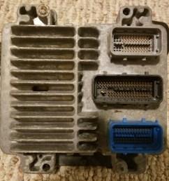 2005 ls2 t56 engine and trans wiring harness and ecm ecm close  [ 4032 x 3024 Pixel ]
