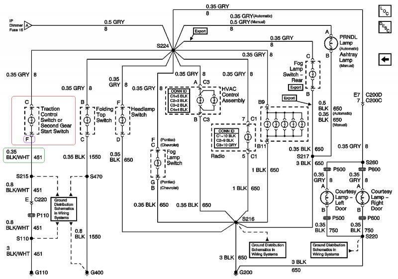 Wiring Diagram Circuit Board Tcs Switch Interiror Lighting