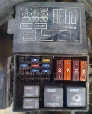Wire Fuse Box Diagram 97 Chevy Camaro   Wiring Library
