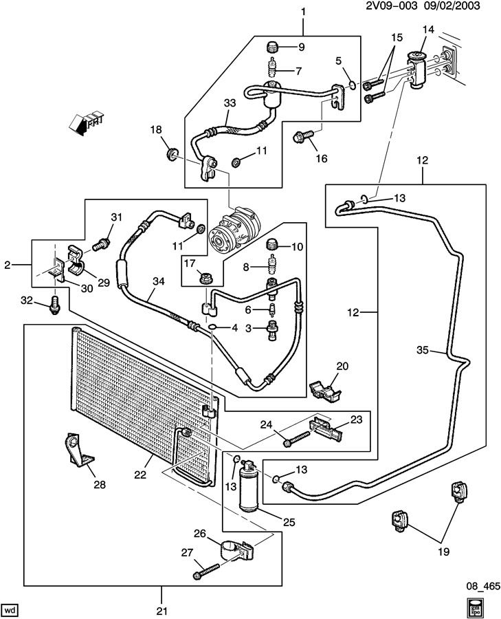 D Condenser Part Problem on 2001 acura tl brake light wiring diagram