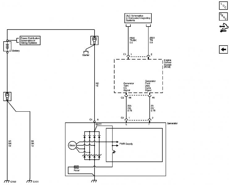 2005 Mazda 6 Alternator Wiring Diagram
