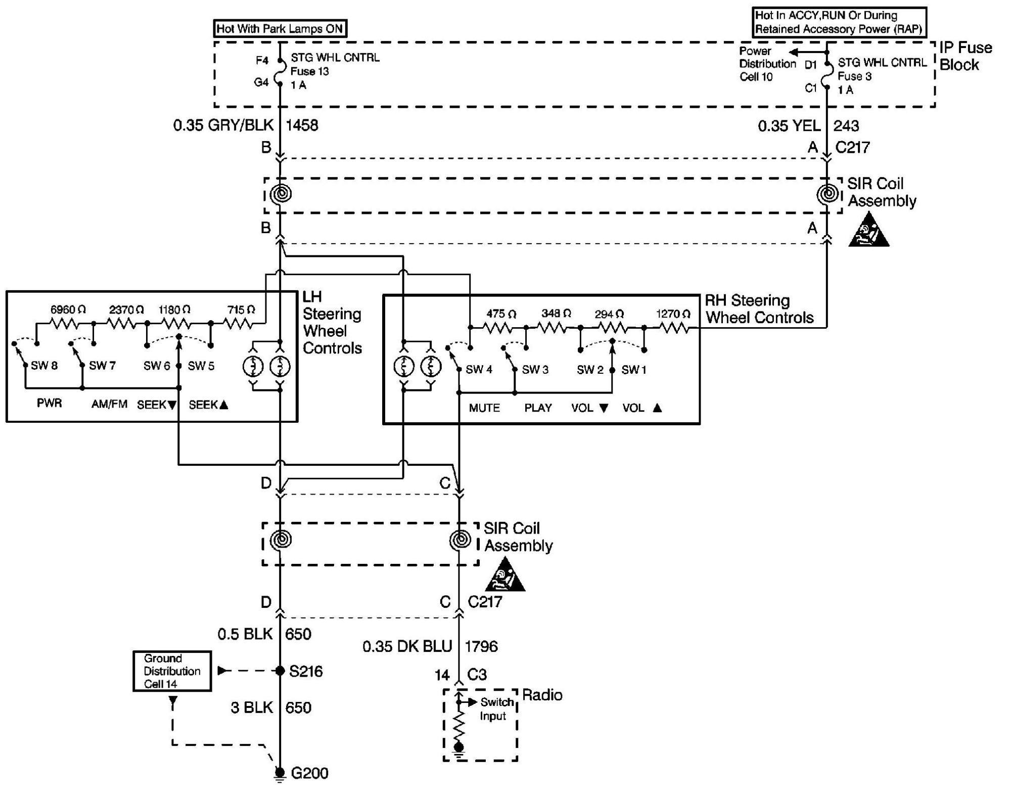 hight resolution of help me separate my steering wheel control from my head c5 corvette headlight wiring diagram c5