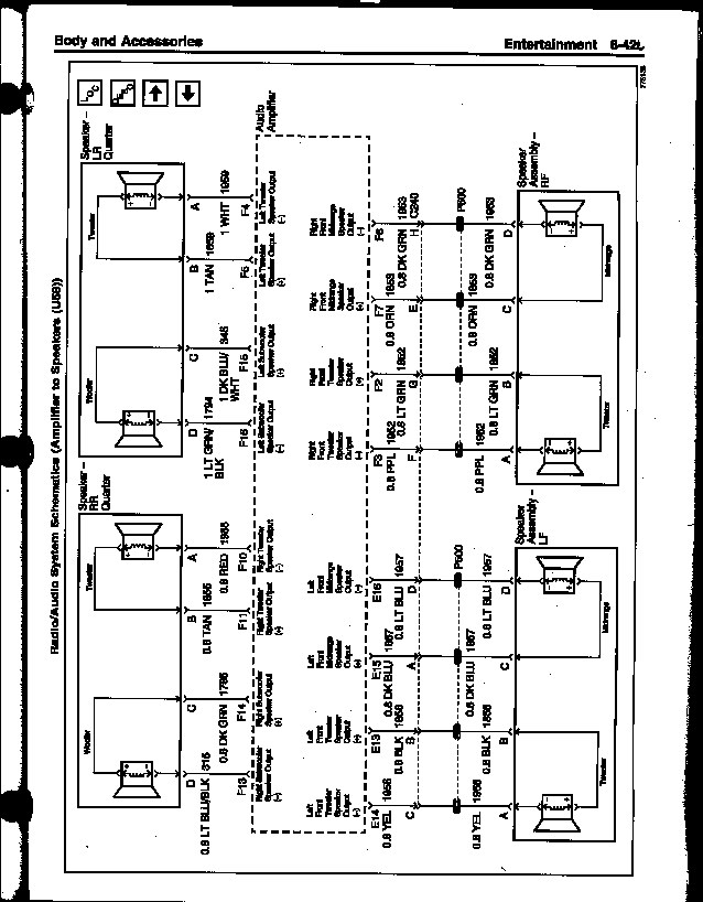 Pontiac Monsoon Amp Wiring Diagram, Pontiac, Get Free