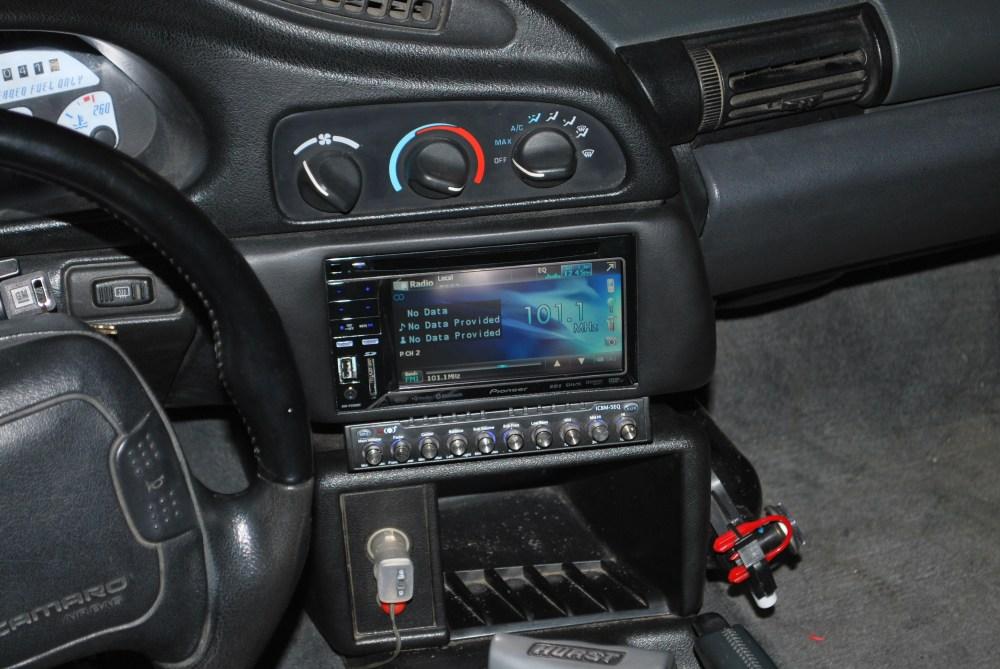 medium resolution of 1994 camaro double din install pics and info ls1tech camaro and maroon camaro 1995 camaro stereo wiring