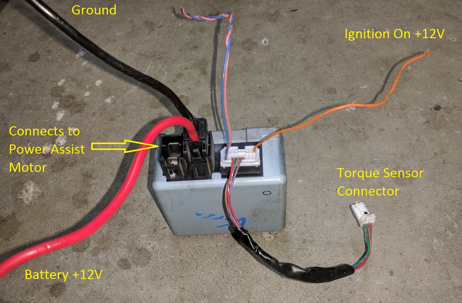 54 Chevy Turn Signal Wiring Diagram 35 Electric Power Steering With Fail Safe No Ebay