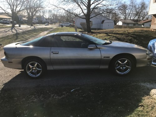 small resolution of  2000 chevy camaro z28 low miles all stock 2 owner extra and ss wheels