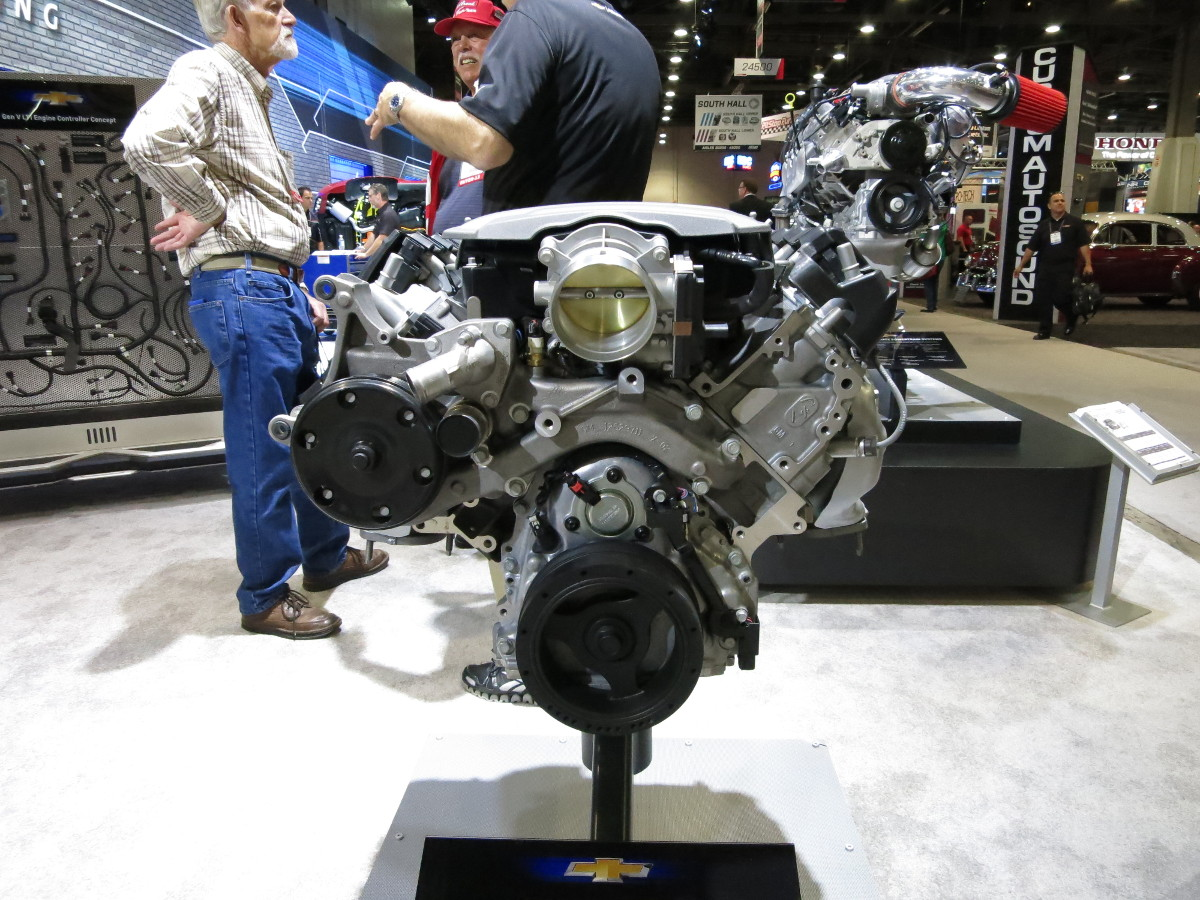 SEMA 2013: Chevy LS Crate Engines in the Flesh - LS1Tech com