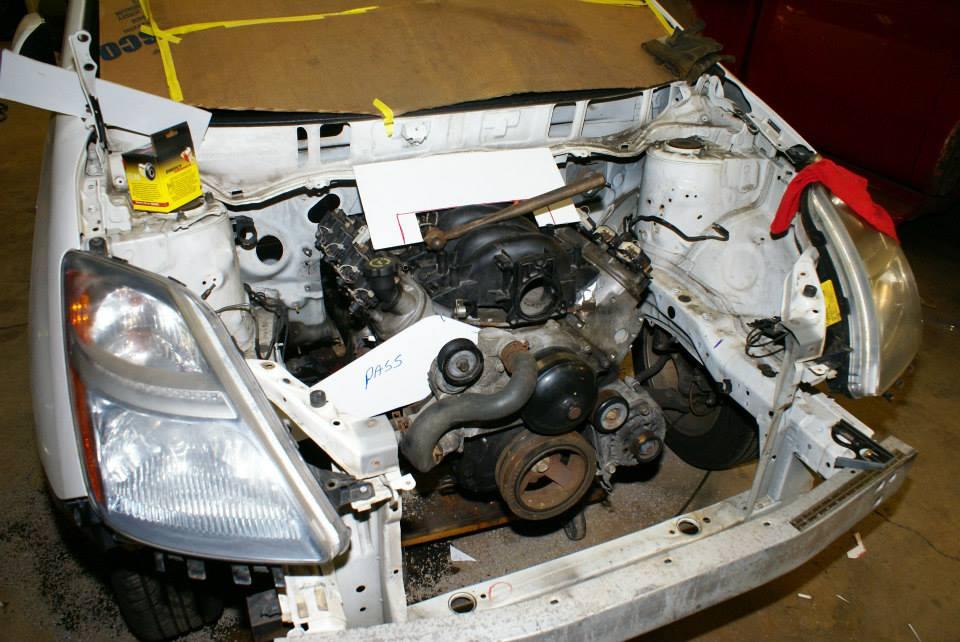 V8 Prius  Autofab Race Cars Swap Ls1 Into A Toyota Prius