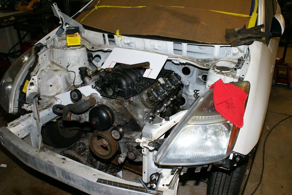 2012 Chevy Cruze Fuse Diagram V8 Prius Autofab Race Cars Swap Ls1 Into A Toyota Prius