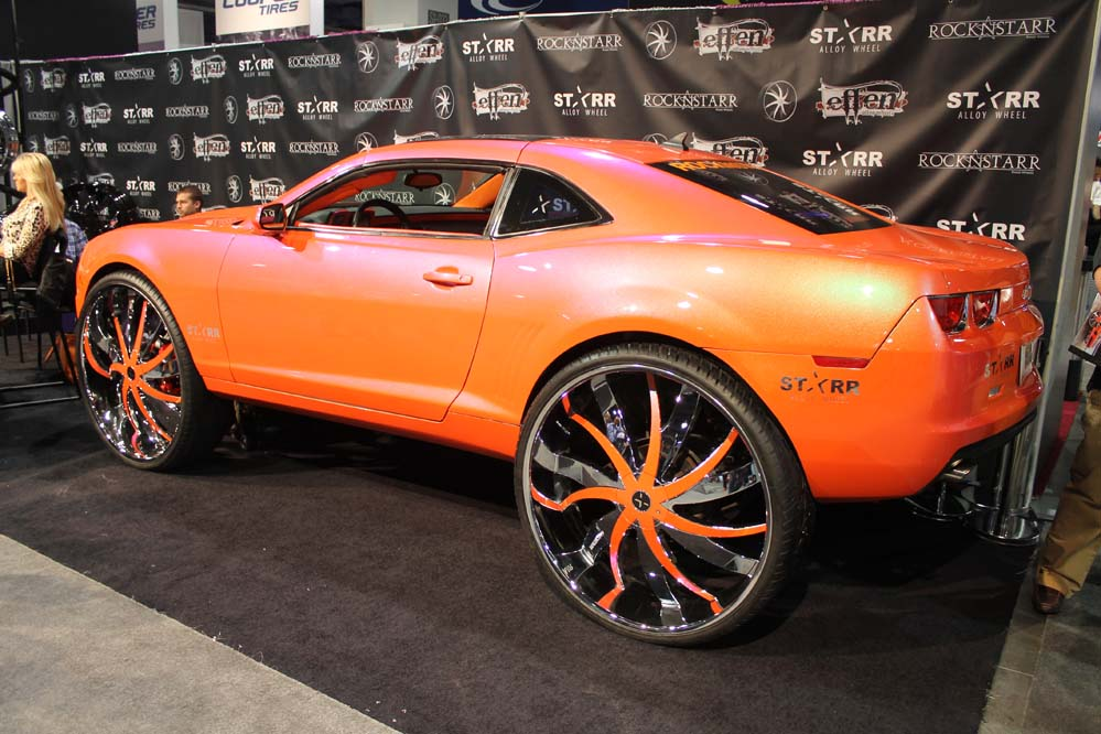 Sorry the First Car in the World on 34Inch Wheels is a