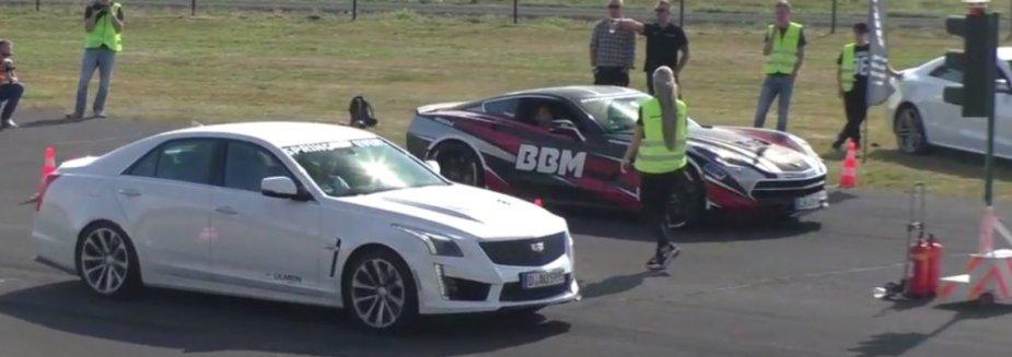 Drag Race Monday 2016 Cadillac Ctsv Shows Off Overseas Ls1tech Com