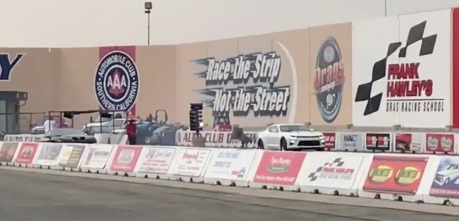 Firebird Vs Camaro Drag Race