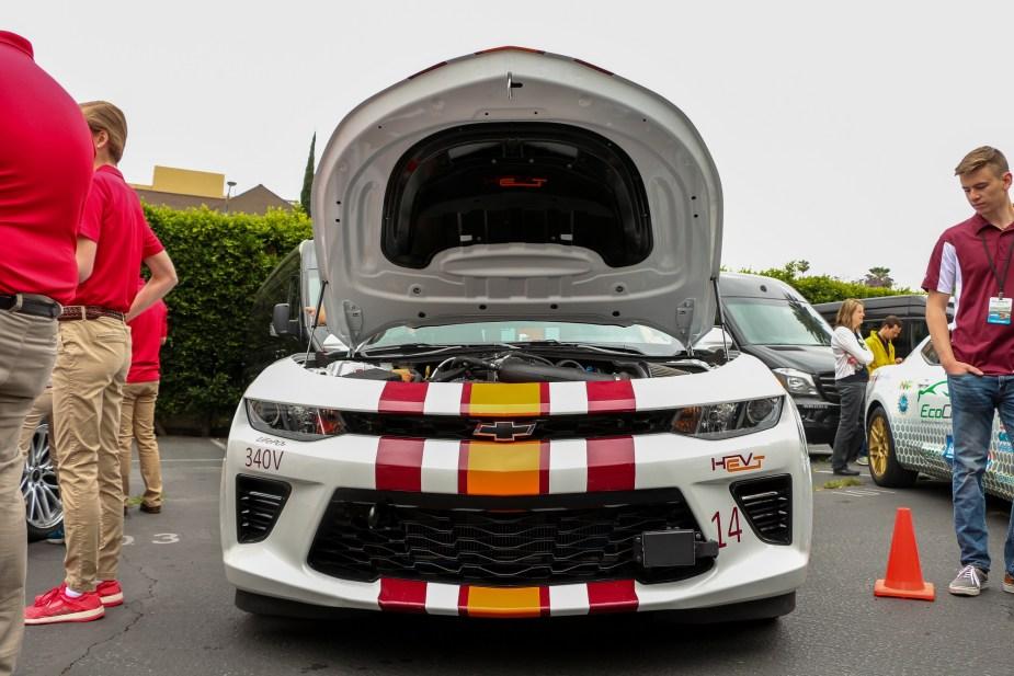 LS1tech.com General Motors GM EcoCar 3 Camaro SS Hybrid of the Future