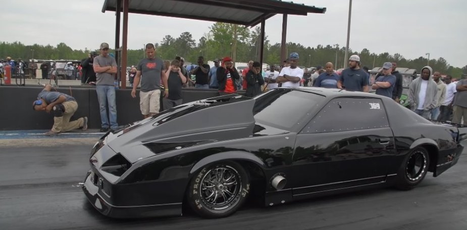 Shocker Look-a-Like 3rd Gen Camaro Slips and Slides Down the