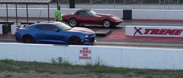 Camaro SS vs. Corvette Stingray C3 LT1 V8 Drag Race Grudge Match Ls1tech.com