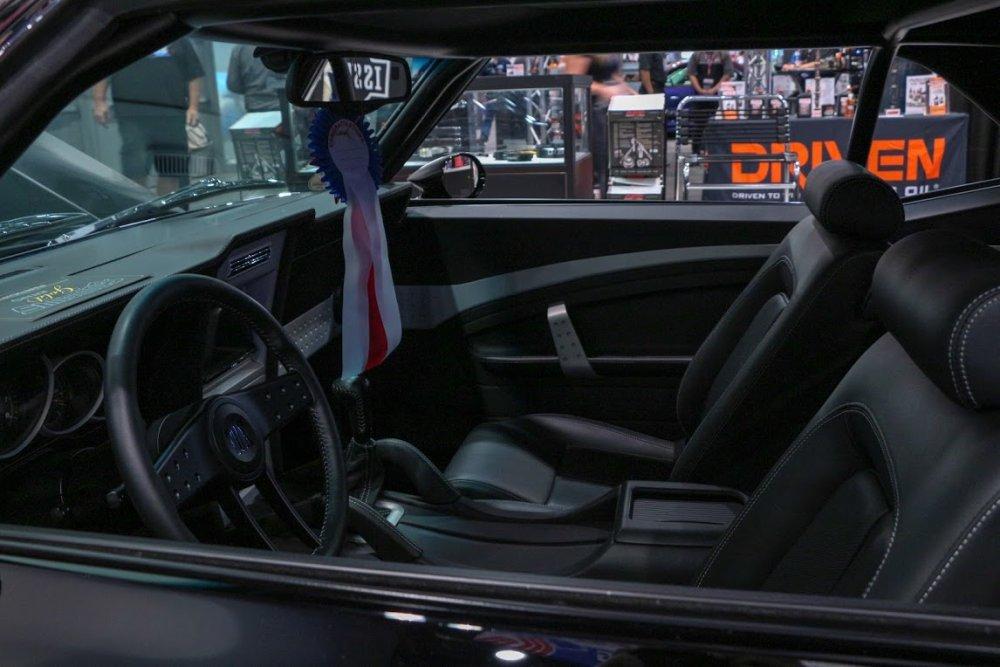 1969 Camaro Restomod Interior