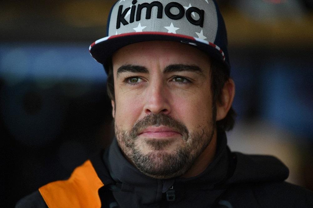 2018 United States GP Fernando Alonso IndyCar