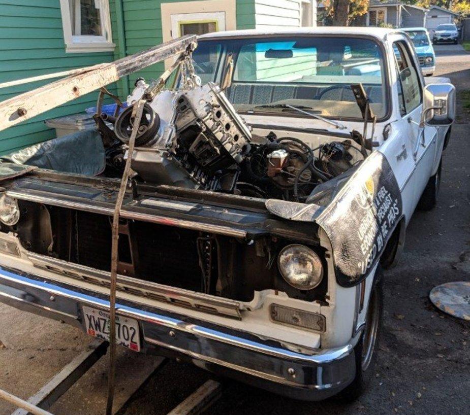 1979 Chevrolet C10 Getting LS Power