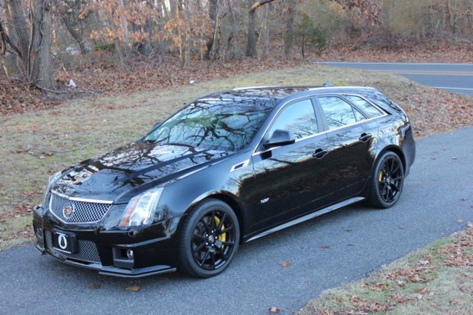 2012 Cadillac CTS-V Wagon High Front