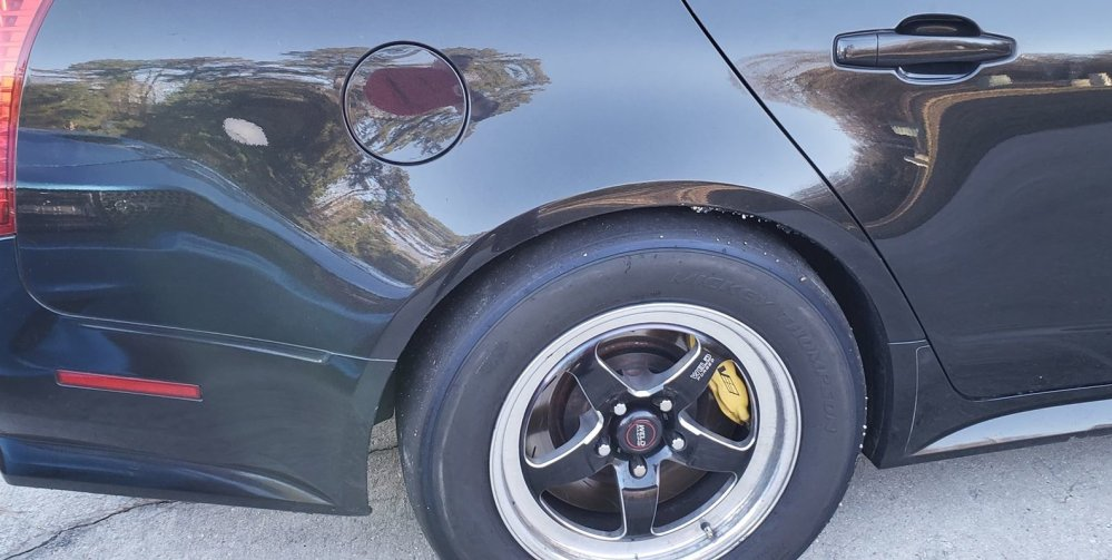 2012 Cadillac CTS-V Rear Wheels