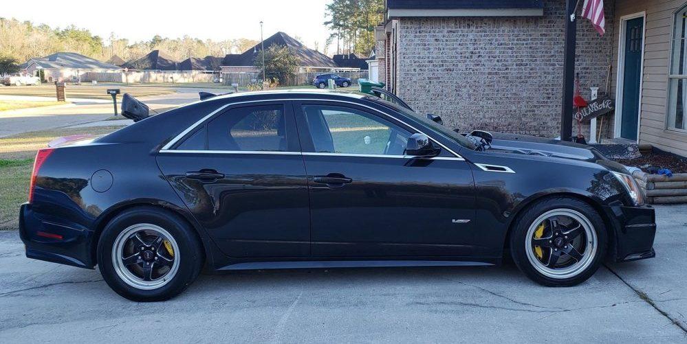 2012 Cadillac CTS-V Side