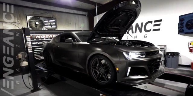 Whipple Supercharged Camaro ZL1 Vengeance Racing Dyno