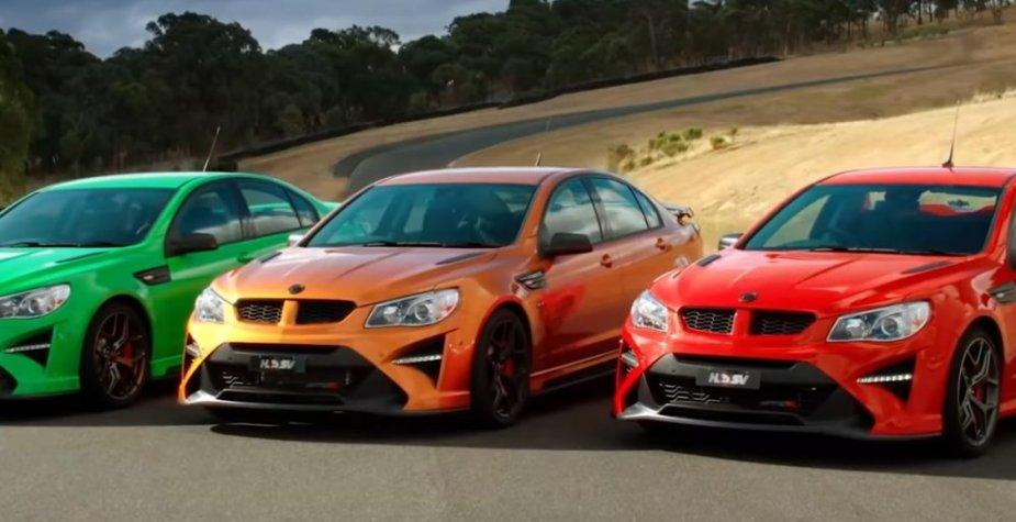 Holden Donut Media VF Lineup
