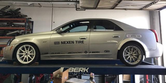 Nexen Tire Cadillac CTS-V Drift Demo Car for Sale LS1tech