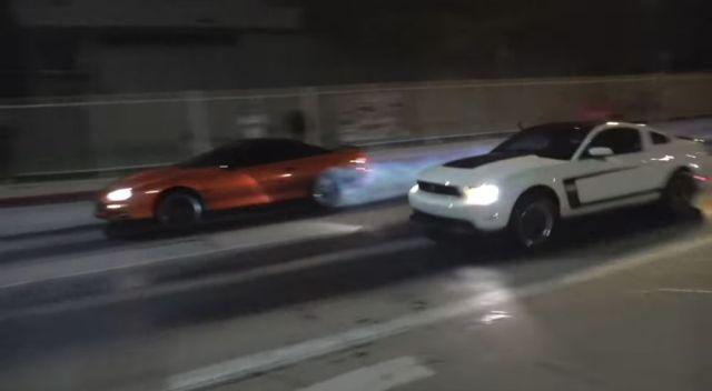 1503 Racing Boss 302 Mustang vs KOK Racing Camaro