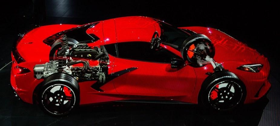 corvette features lt pushrod  engine     move lstechcom