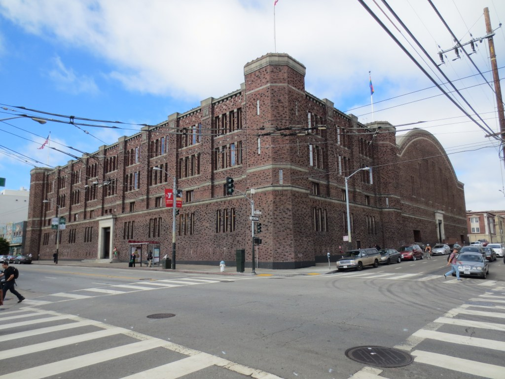 The imposing and very un-San Francisco looking National Guard Armory was a block from my first apartment with Daryl on 14th Street. It became a porn studio in the 90's. Thank you for your service.