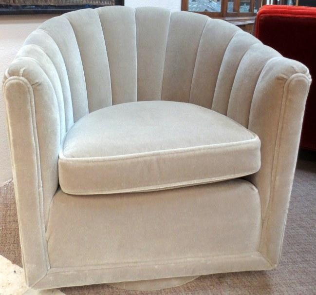 Channel Back Swivel Chair