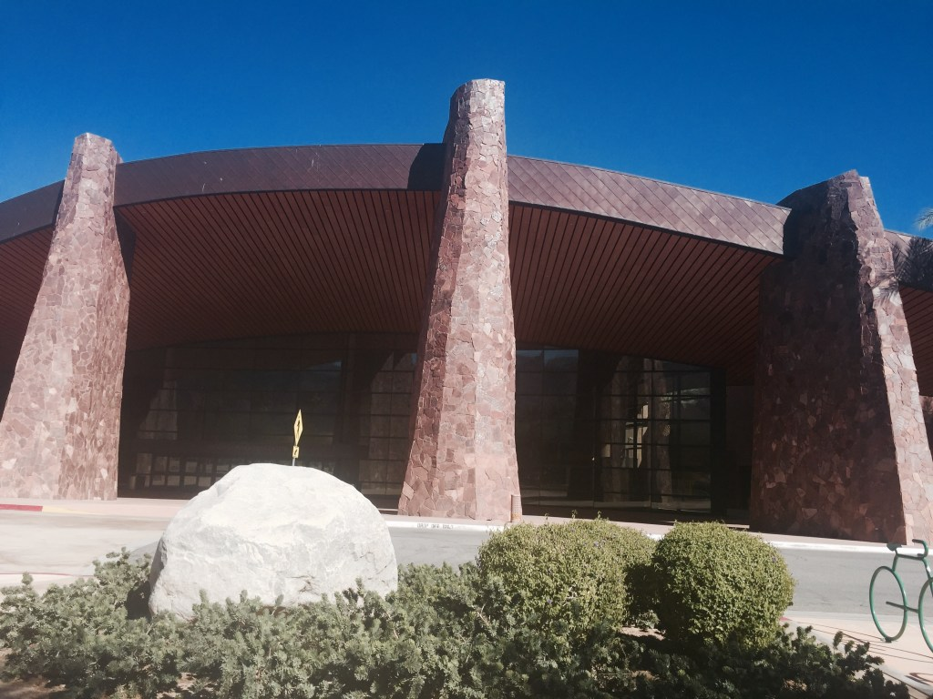 The Fred Flintstone Convention Center, Palm Springs