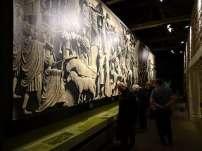 Roman Army Musuem display