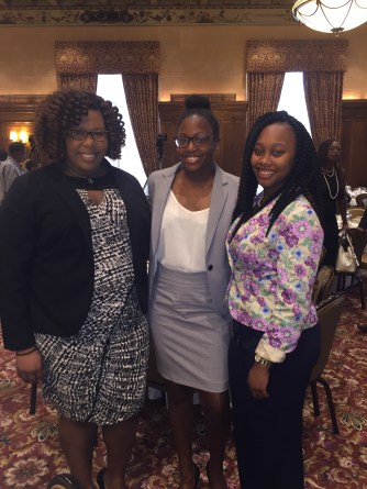 Two of my friends (interns in the Downtown Detroit Area) and Myself