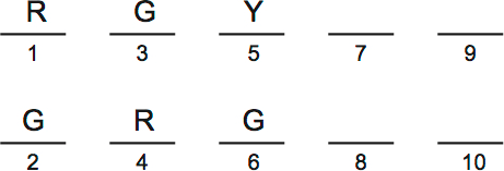 LSAT PrepTest 33, Section IV, Logic Game 4 Setup