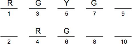 LSAT PrepTest 33, Section IV, Logic Games, Question 20