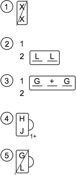 LSAT PrepTest 76, Section III, Logic Game 3 Diagram