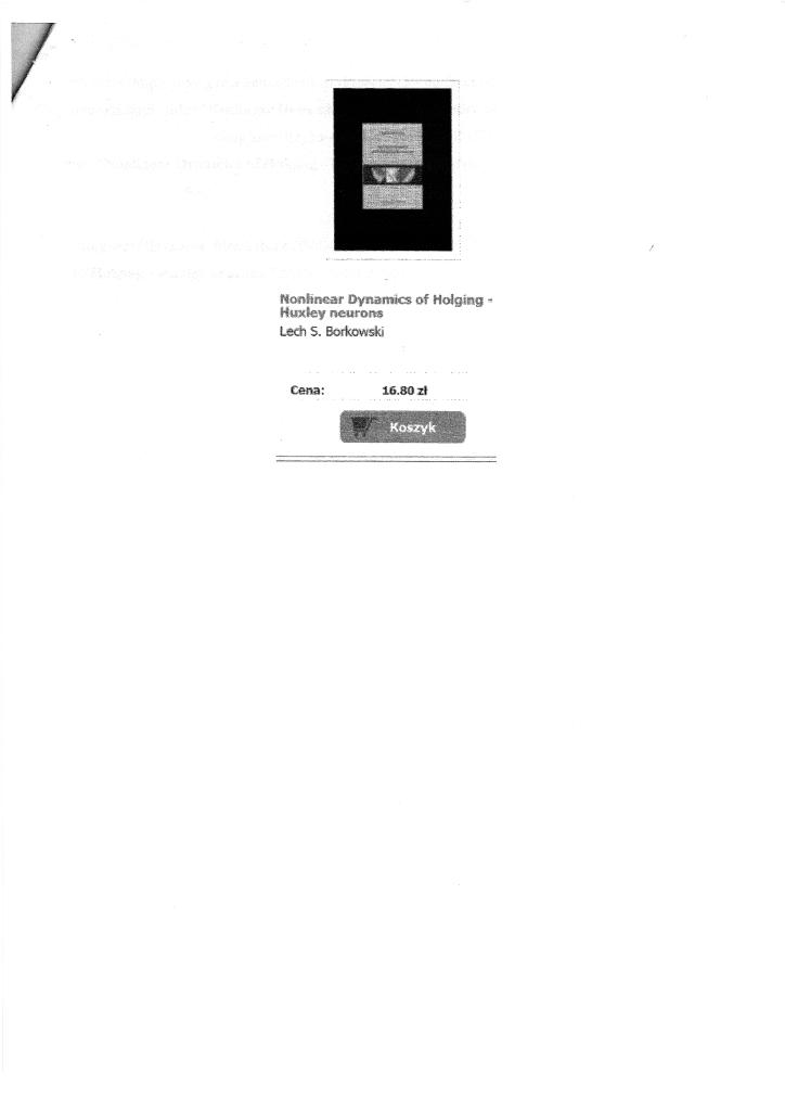 Załącznik 1. Błędny tytuł publikacji w katalogu internetowym Wydawnictwa Naukowego UAM, styczeń 2012