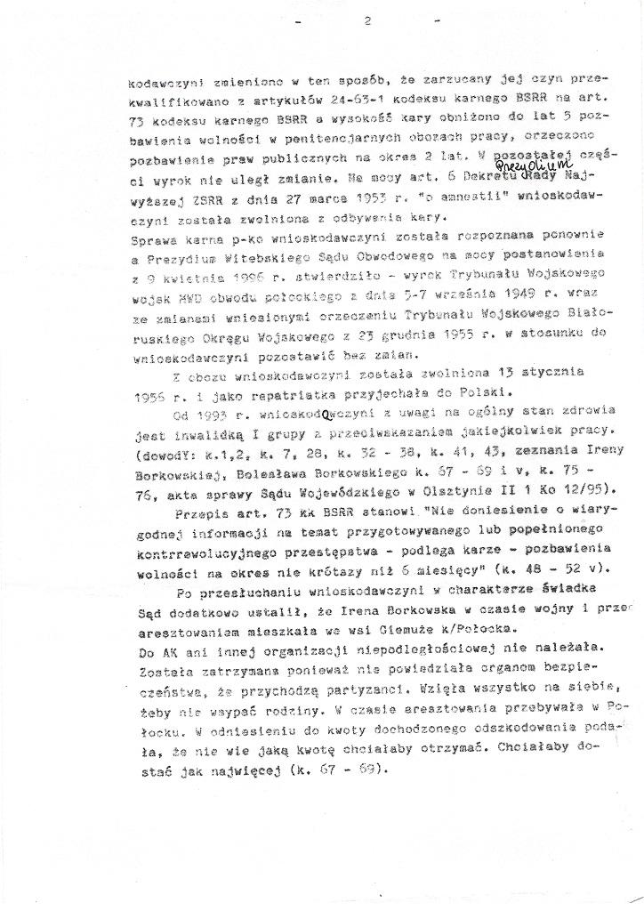 Wyrok Sądu Okręgowego w Olsztynie 20 marca 2000 strona 3/5