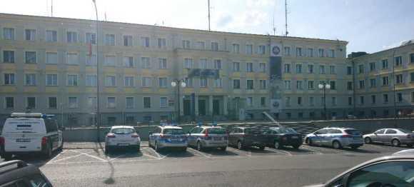 Komenda Miejska Policji przy ul. Partyzantów 40 w Zielonej Górze